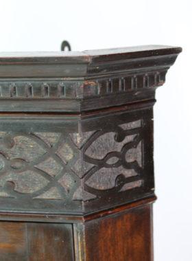 Edwardian Hanging Corner Cabinet