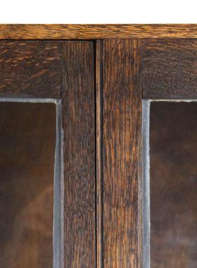 Edwardian Oak Bookcase