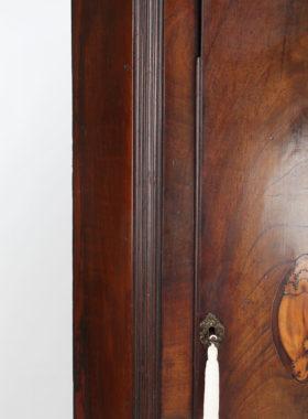 Georgian Mahogany Standing Corner Cabinet