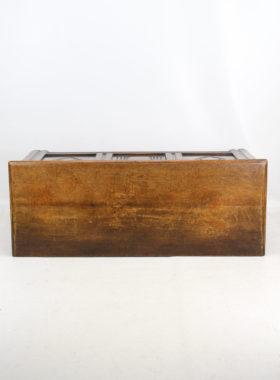 Small Edwardian Oak Coffer