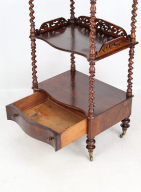 Victorian Rosewood Whatnot