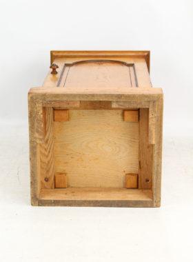 Victorian Ash Beside Cabinet