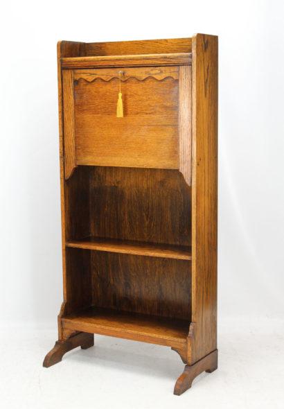 Edwardian Oak Hall Bureau