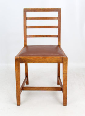 Heals Style Oak Dining Chairs