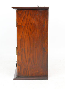 Small Arts Crafts Oak Cabinet