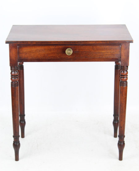 Small Late Regency Writing Table
