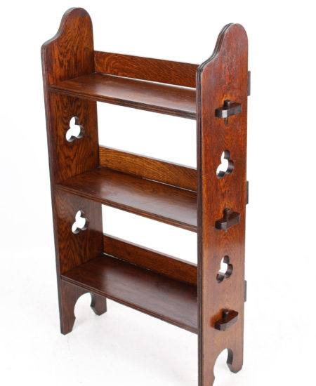 Liberty And Co Oak Open Bookcase
