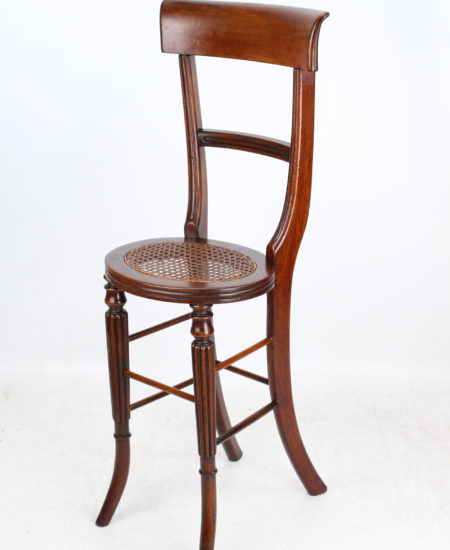 Regency Mahogany Correction Chair