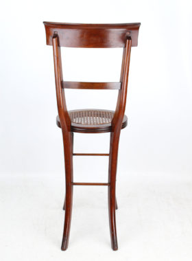 Regency Mahogany Deportment Chair