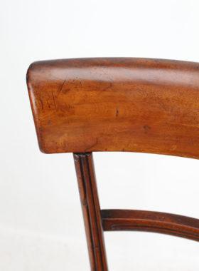 Regency Mahogany Correction Chair