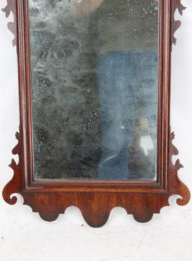 Georgian Mahogany Fretwork Chippendale Mirror
