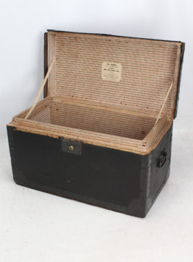 Small Regency Trunk with London Makers Label
