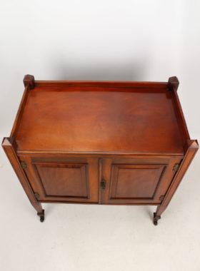 Victorian Mahogany Side Cabinet