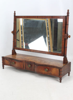 Large Regency Toilet Mirror