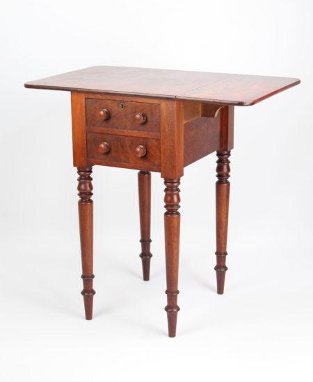 Regency Mahogany Bedside Table