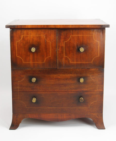 Regency Side Cabinet Commode