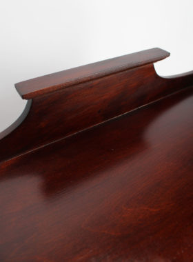 Tall Edwardian Music Cabinet