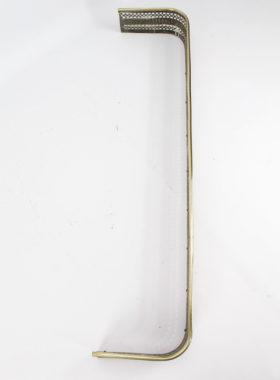 Victorian Pierced Brass Fire Fender