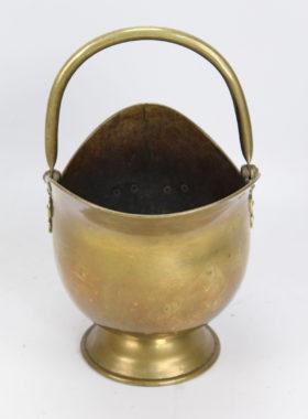 Victorian Brass Coal Scuttle
