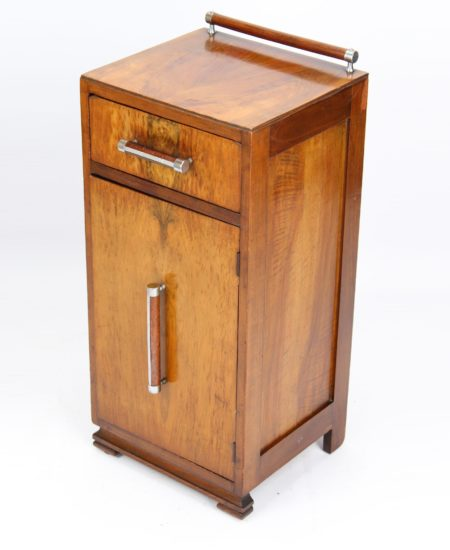 Art Deco Walnut Cupboard