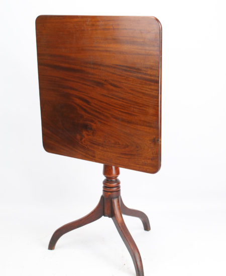Victorian Mahogany Tilt Top Table