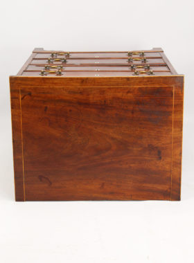 Small Georgian Mahogany Chest Drawers