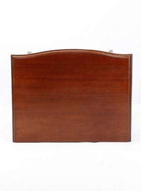 Mahogany Music Cabinet