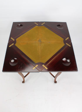 Victorian Envelope Card Table