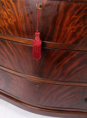 Georgian Revival Mahogany Chest Drawers