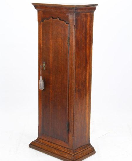 Slim Georgian Clock Cupboard