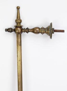 Victorian Brass Curtain Pole