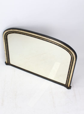 Victorian Gothic Revival Overmantle Mirror