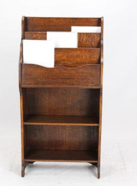 Edwardian Oak Display Stand