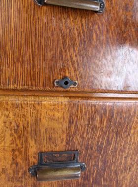 Kenrick Jefferson Oak Filing Cabinet