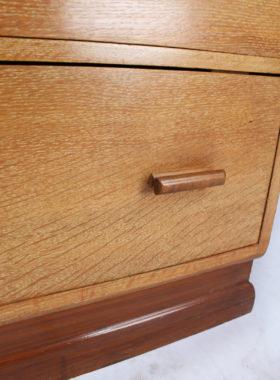 Art Deco Oak Chest Drawers