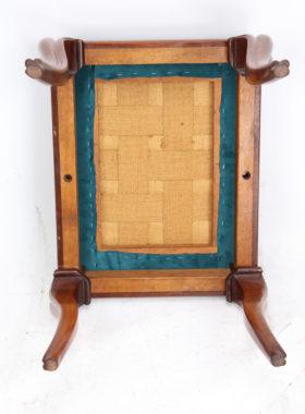 Victorian Mahogany Dressing Table Stool