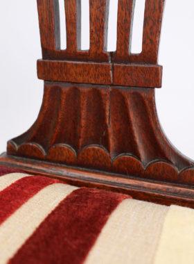 Pair 19th Century Mahogany Chairs