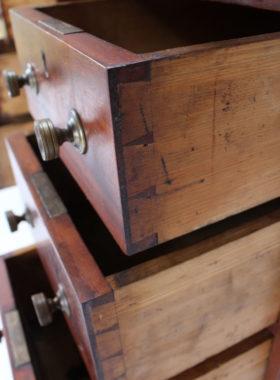 Small Victorian Mahogany Pedestal Desk
