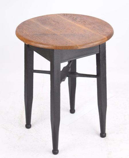 Edwardian Oak & Ebonised Pub Table