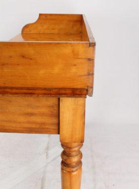 Antique Victorian Satinwood Desk