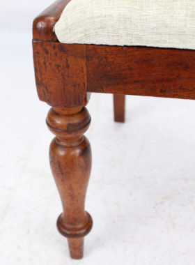 Set 4 Victorian Mahogany Dining Chairs
