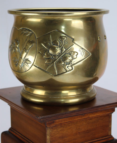 Antique Brass Planter