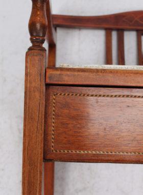 Edwardian Piano Stool