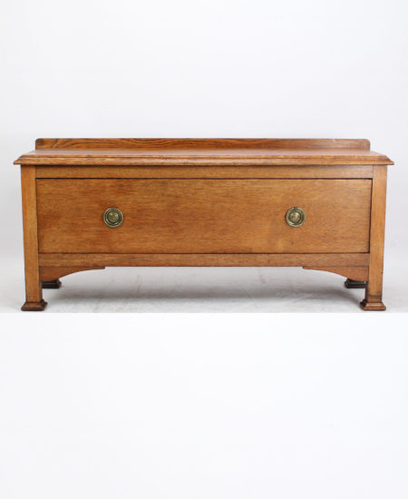 Arts and Crafts Oak Chest