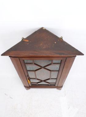 Victorian Hanging Corner Cabinet