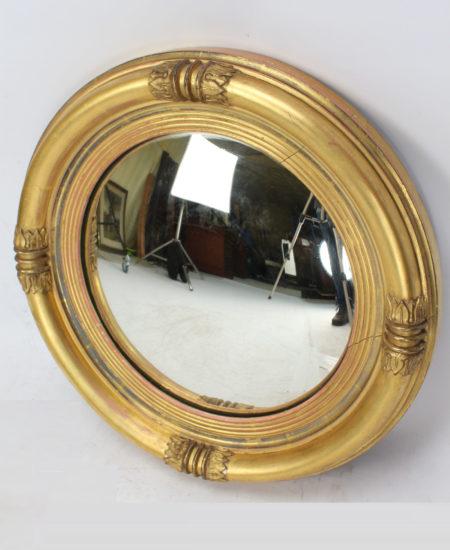William IV Convex Gilt Mirror