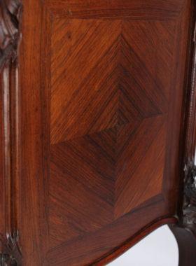 Antique French Kingwood Bedside Cabinet