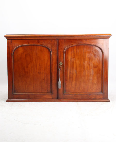 Victorian Heal & Sons Mahogany Low Cupboard