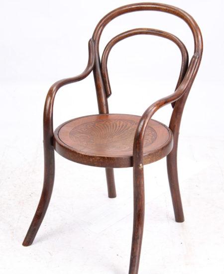J&J Kohn Thonet Childs Bentwood Armchair